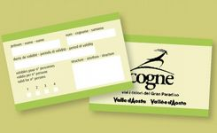 Friend of Cogne card - Cogne - Aosta Valley