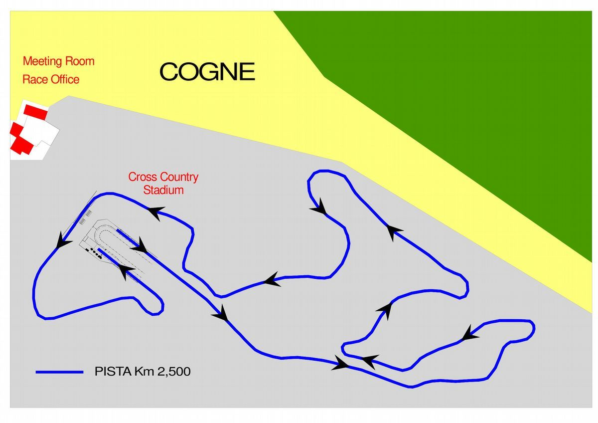 Track 2,500 km - Cogne - Aosta Valley