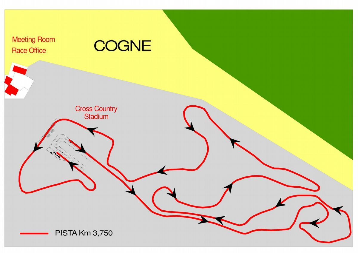 Track 3,750 km - Cogne - Aosta Valley