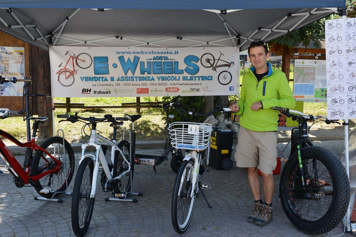 Aosta / Rental shops E-Wheels Aosta