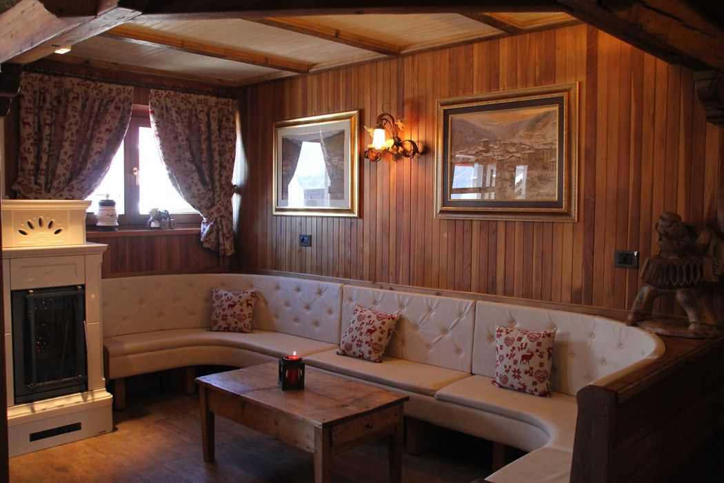 Inside the Hotel Belvedere in Cogne