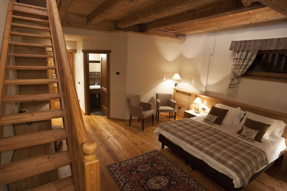 Suite with loft of La Madonnina del Gran Paradiso hotel in Cogne