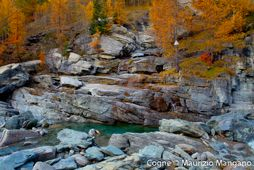 Lillaz Waterfalls - Cogne - Autumn