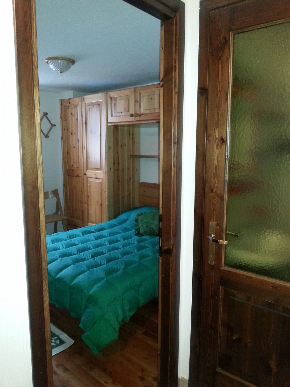 Bedroom of the apartment Begonia in Cogne