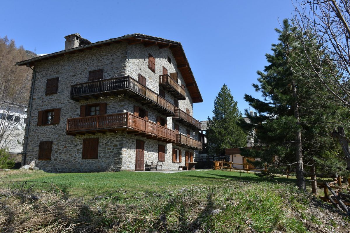 Outside view of apartment Casa Bibois 1 in Cogne