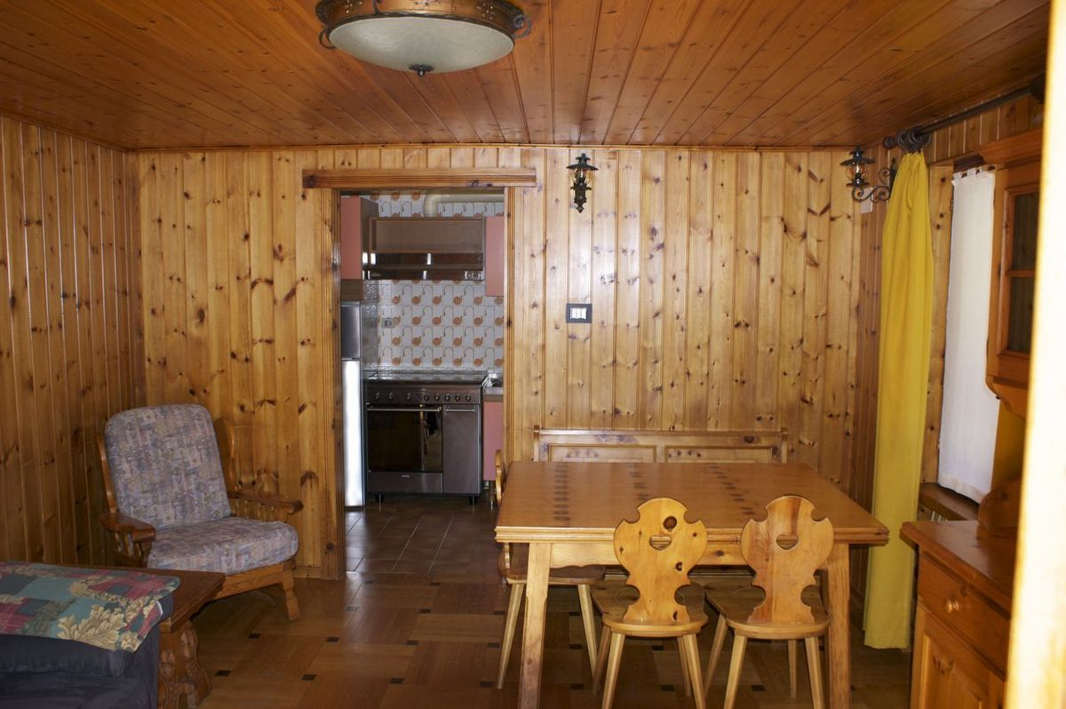 Living room of the apartment Bardoney in Cogne