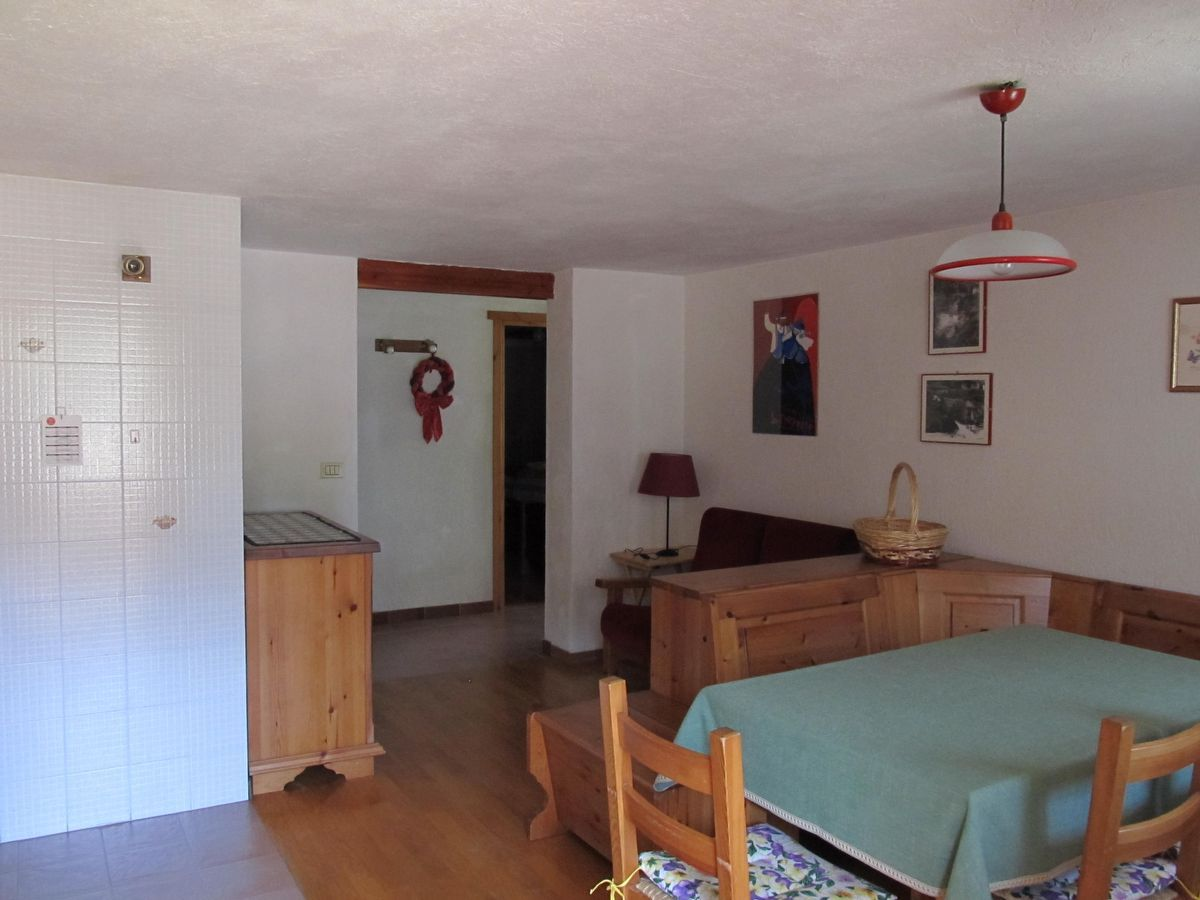 Living room of the apartment Meson de Germen 2 in Cogne
