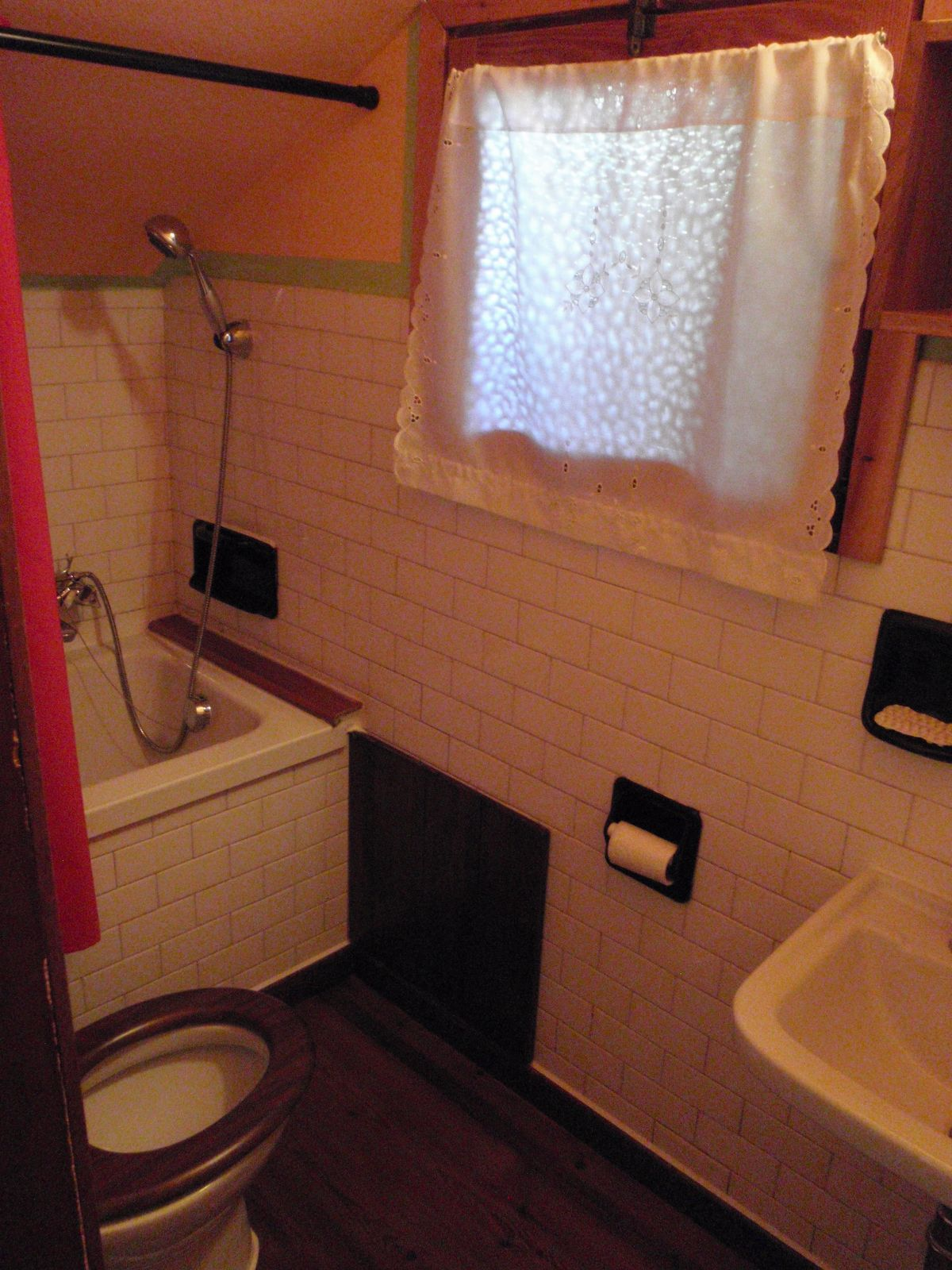 Bathroom in apartment Kalhua in Cogne