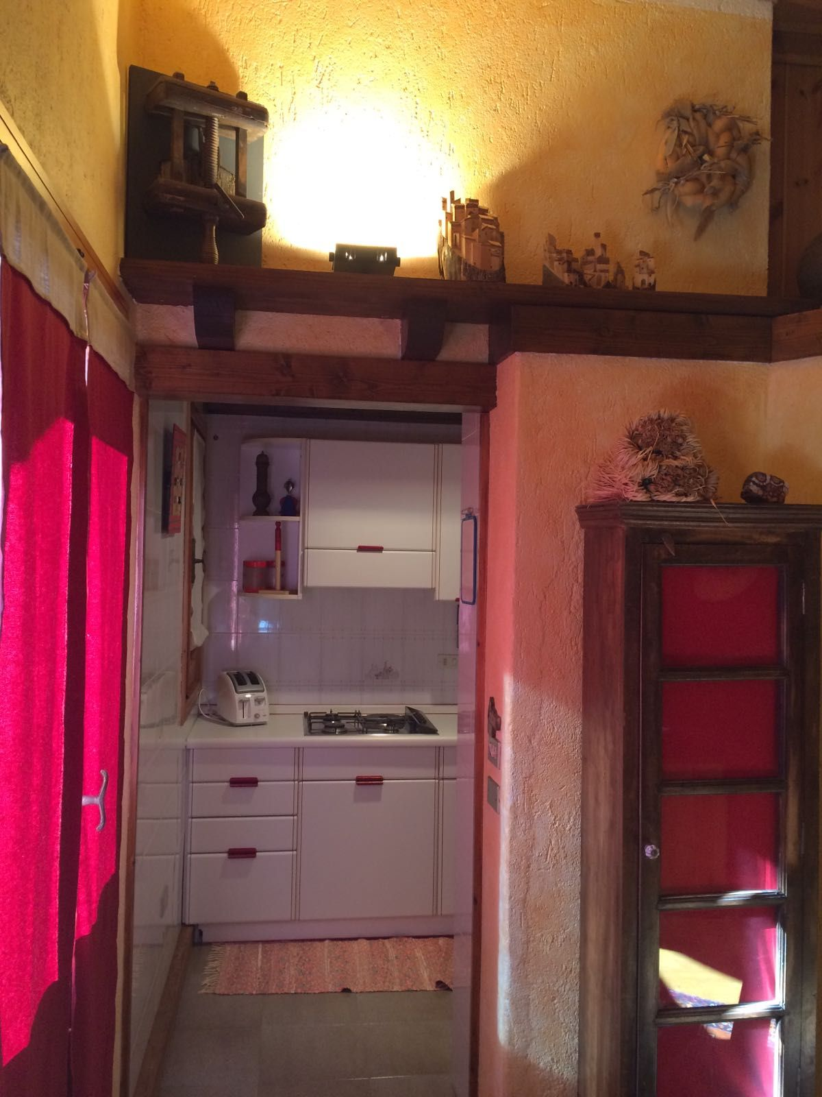 Kitchenette of the apartment Charme in Cogne