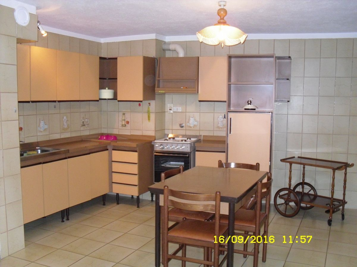 Kitchen of the apartment Cogne-S in Cogne