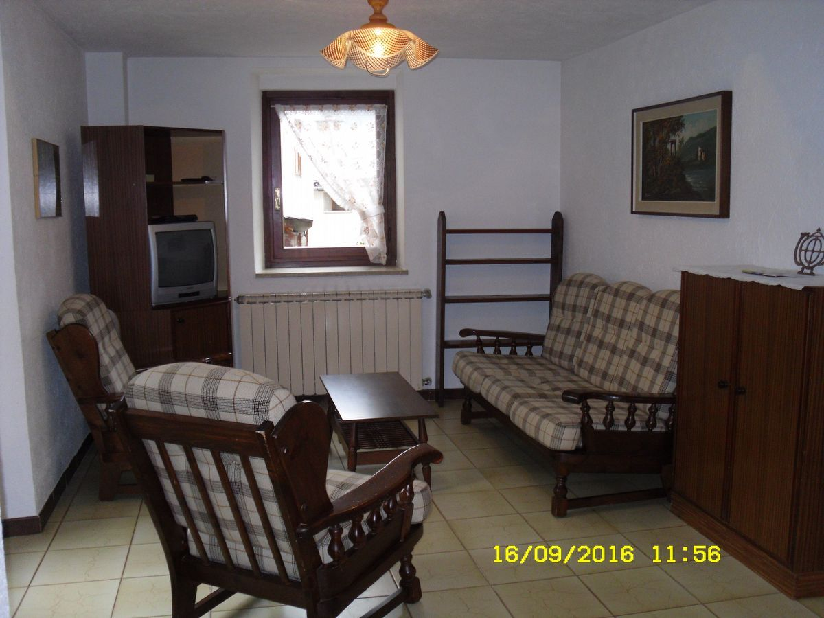 Living room of the apartment Cogne-S in Cogne