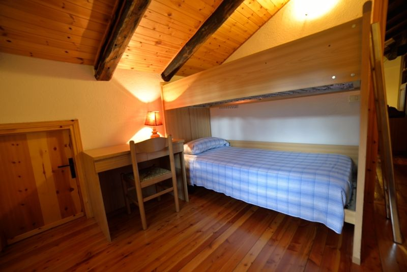 Small bedroom of the apartment Maison Franco in Cogne